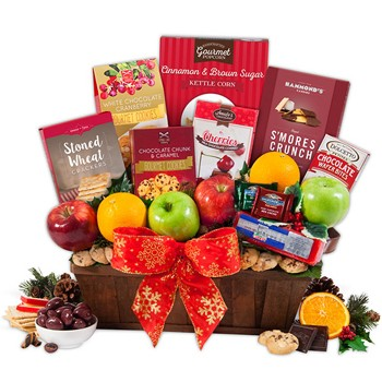 Taste the Holiday Gift Basket