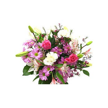 Pink Diamond - Bouquets on www.flowerstoukraine.com