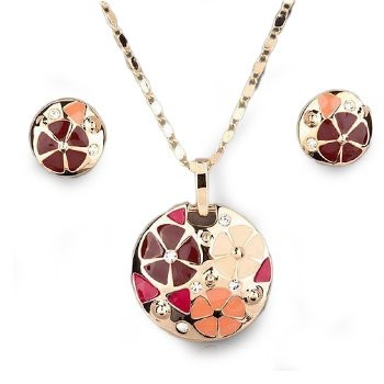 Bold and Beautiful Necklace and Earring Set