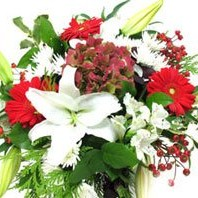 Holiday Colors - Bouquets on www.flowerstoukraine.com