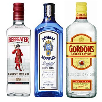 A Trio Of Gin