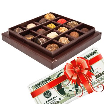 Gift-o-Cash with Chocolates