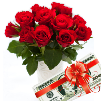 Gift-o-Cash Roses Bouquet